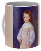 Child In A White Dress Lucie Berard 1883 Coffee Mug