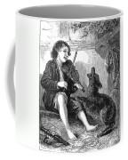Child Playing Violin Coffee Mug
