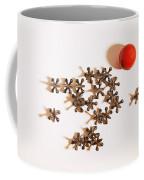 Childhood Game Of Jacks Coffee Mug