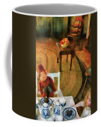Children - Toys - The Tea Party Coffee Mug by Mike Savad