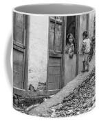 Children At Sankhuwasabha, Nepal Coffee Mug