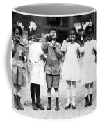Children Brushing Teeth Coffee Mug