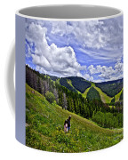 Children On Vail Mountain Coffee Mug