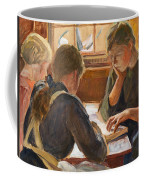 Children Reading Coffee Mug