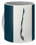 Chile Simple Intrusion Map 3d Render Coffee Mug