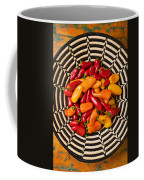 Chili Peppers In Basket  Coffee Mug