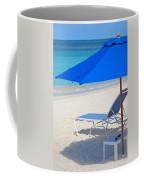 Chilling On The Beach Anguilla Caribbean Coffee Mug