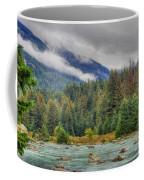 Chillkoot River Hdr Paint Coffee Mug