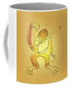 Chimp And Bug Coffee Mug