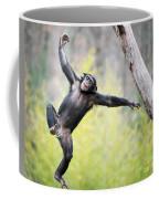 Chimp In Flight Coffee Mug