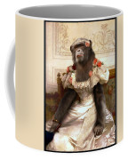 Chimp In Gown  Coffee Mug