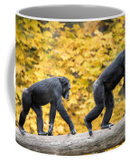Chimpanzee Pair IIi Coffee Mug