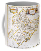China: Fujian Map, 1662 Coffee Mug