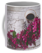 Chinaberry Blossoms And Coffee Cup Coffee Mug