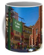 Chinatown View From St. Mary's Square Coffee Mug