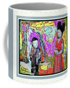 Chinese Figures Coffee Mug