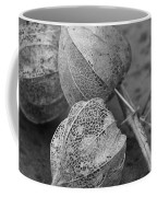 Chinese Lanterns In Black And White Coffee Mug