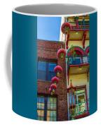 Chinese Lanterns Over Grant Street Coffee Mug