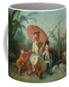 Chinese Motif Coffee Mug
