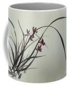 Chinese Orchid Coffee Mug