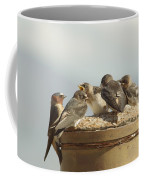 Chirping Swallows Coffee Mug
