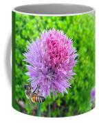 Chive And Bee Coffee Mug