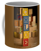 Chloe - Alphabet Blocks Coffee Mug