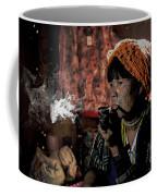 Cho Chin Woman Smoking  Coffee Mug