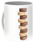 Chocolate And Vanilla Creamed Filled Cookies  Coffee Mug