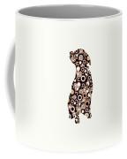 Chocolate Lab - Animal Art Coffee Mug