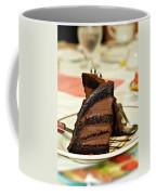 Chocolate Mousse Cake Coffee Mug