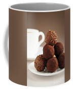 Chocolate Truffles And Coffee Coffee Mug