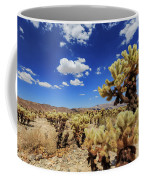 Cholla Cactus Garden In Joshua Tree National Park Coffee Mug