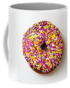 Cholocate Donut With Sprinkles Coffee Mug by Garry Gay