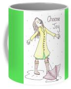 Choose Joy Woman Coffee Mug