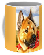 Chow Shepherd Mix Coffee Mug