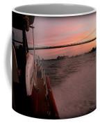 Chris Craft To The Bridge  Coffee Mug