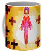 Christ And Crosses Coffee Mug