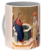 Christ And The Samaritan Woman Fragment 1311 Coffee Mug