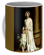 Christ And The Young Child Coffee Mug
