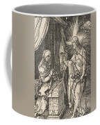 Christ Appearing To His Mother, From The Small Passion Coffee Mug