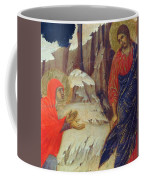 Christ Appearing To Mary Magdalene Fragment 1311 Coffee Mug