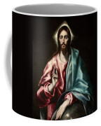 Christ As Saviour Coffee Mug