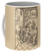 Christ At Emmaus Coffee Mug