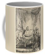 Christ At Emmaus: The Larger Plate Coffee Mug