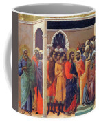 Christ Before Caiaphas 1311 Coffee Mug