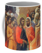 Christ Before Caiaphas Fragment 1311 Coffee Mug