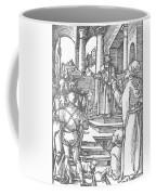 Christ Before Pilate 1511 Coffee Mug