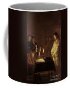 Christ Before The High Priest Coffee Mug by Gerrit van Honthorst