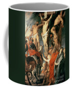 Christ Between The Two Thieves Coffee Mug by Peter Paul Rubens